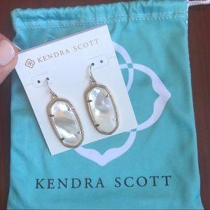 Kendra Scott Elle Earring - Ivory Pearl